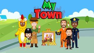 My Town Police Kids Games Funny