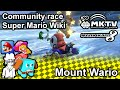 Mario Kart 8 - Mount Wario - Super Mario Wiki Community race