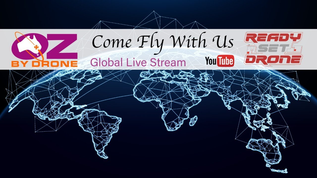 Fly #WithMe From Oz By Drone - Virtual Drone Meetup
