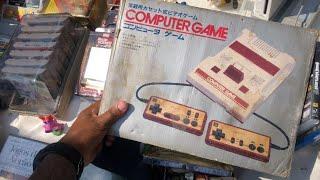 CAÇADA GAMER várias games ps3 , ps2 , Nintendo Wii, famicom na caixa ? e ps1 na FEIRA DO ROLO