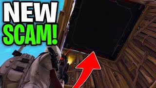 Dumb Scammer Falls For Crazy New Scam! (Scammer Gets Scammed) Fortnite Save The World
