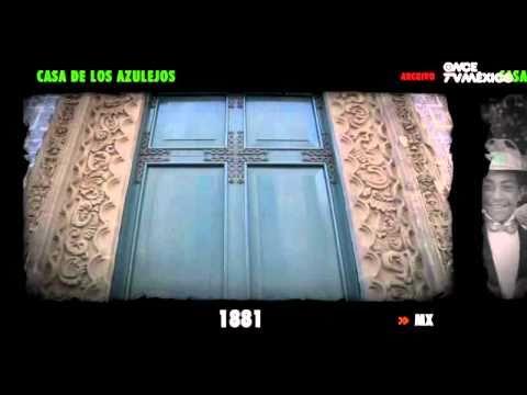 Lugares con historia casa de los azulejos youtube Historia casa de los azulejos