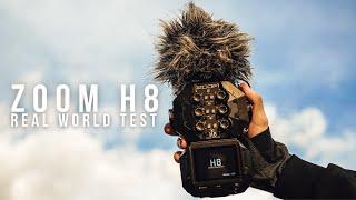 ZOOM H8 REAL WORLD TEST - Zagreb, Croatia