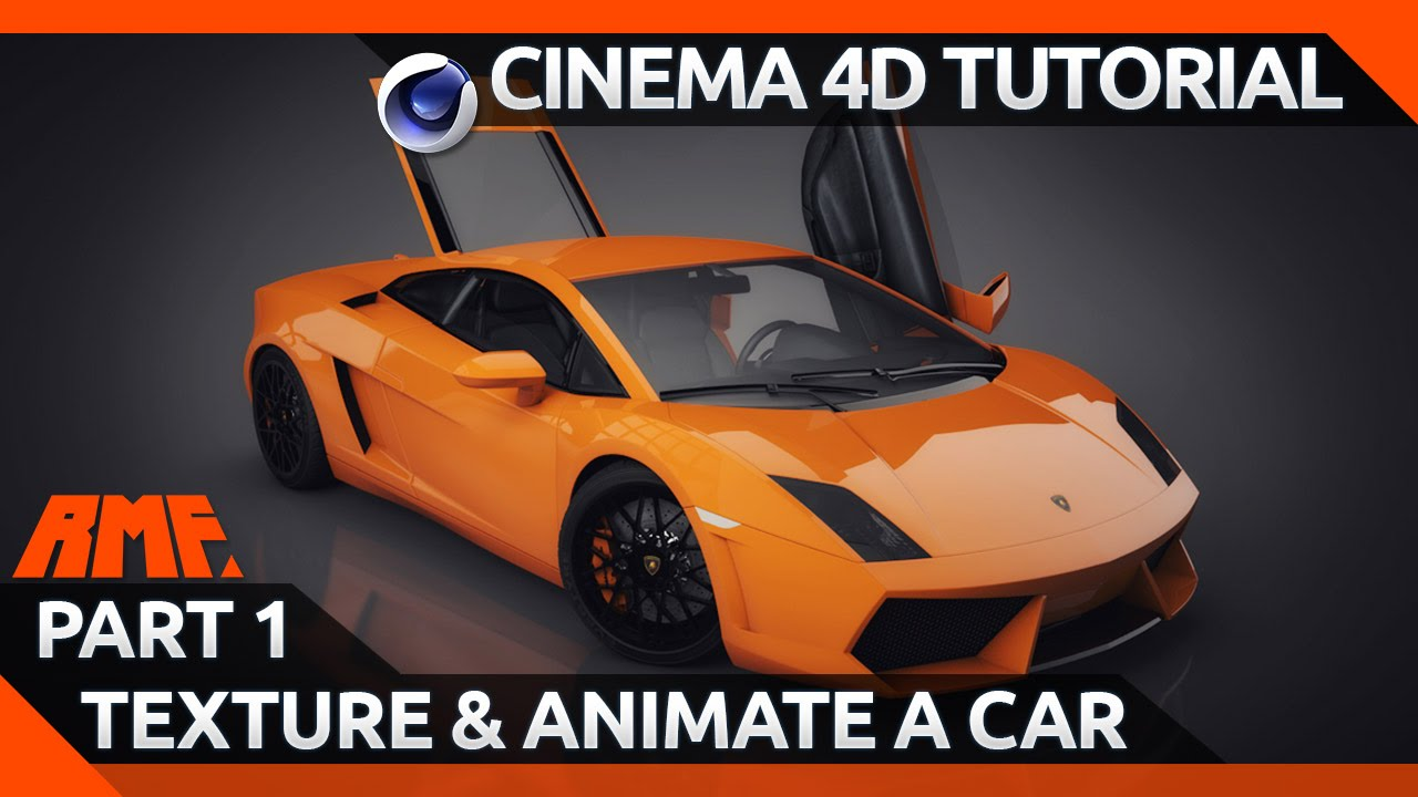 Design of car model - Cinema 4d Tutorial Texturing And Animating A Car Model Part 1 Youtube
