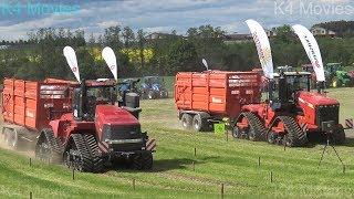 Case IH vs Versatile | Big agricultural tractors with rubber tracks
