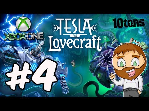 Tesla vs Lovecraft Xbox One - UNLOCKING OUR FIRST INVENTION [4]