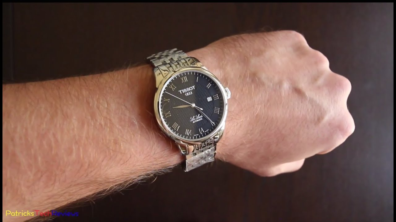 Tissot Le Locle Automatic T41 1 483 53 Unboxing Review Youtube