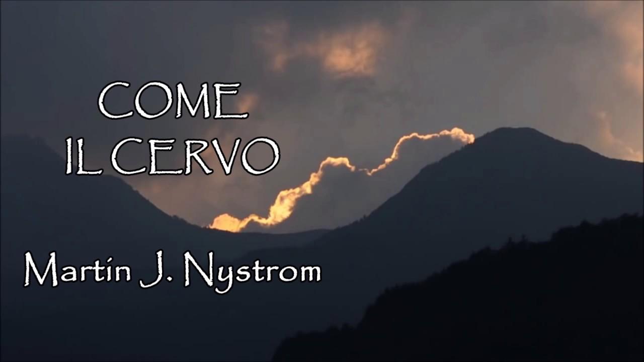 """COME IL CERVO (""""As the deer"""" Martin J. Nystrom) - Sauro Riccetti (2002)"""