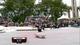 Maloof Money Cup NY 2011 Pro Finals Round 2 Jam 2 - Justin Figueroa (Figgy) & Nick Merlino