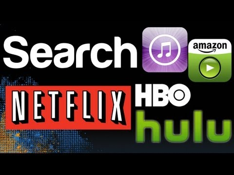 Search Netflix, Hulu, iTunes, HBO Simultaneously  CanIStreamIt, hattan, GoWatchIt iOS