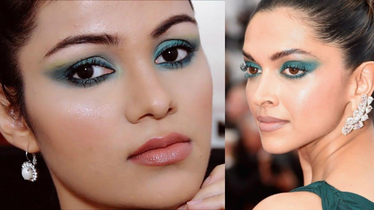 Deepika Padukone Cannes 2017 Makeup Tutorial In HINDI ...  Deepika Padukon...
