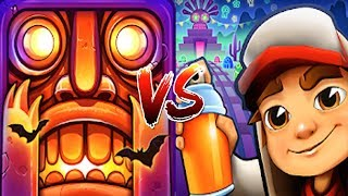Temple Run 2 Vs Subway Surfers Mexico Halloween Special 2019 New Map