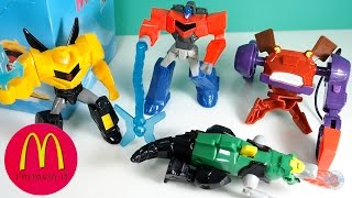 2015 TRANSFORMERS ROBOTS IN DISGUISE_HAPPY MEAL_McDONALD'S Kids Toys