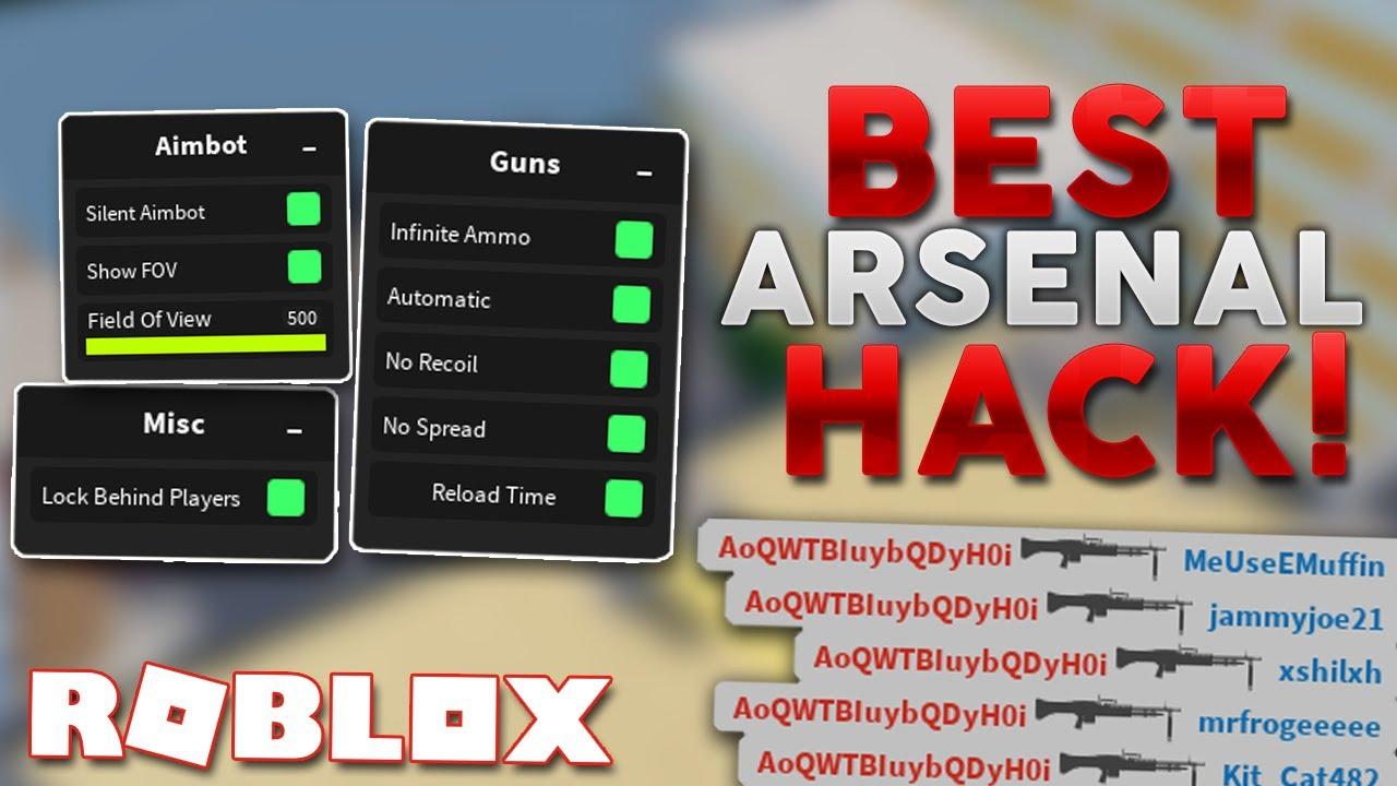 ARSENAL HACK | SILENT AIMBOT + GUN MODS & MORE [ROBLOX]