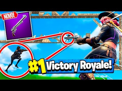 Fortnite: DEATH RUN *INSANO* COM O NOVO REVÓLVER! (MINI-GAME PARQUINHO 3.0) ‹ DENGOSO ›