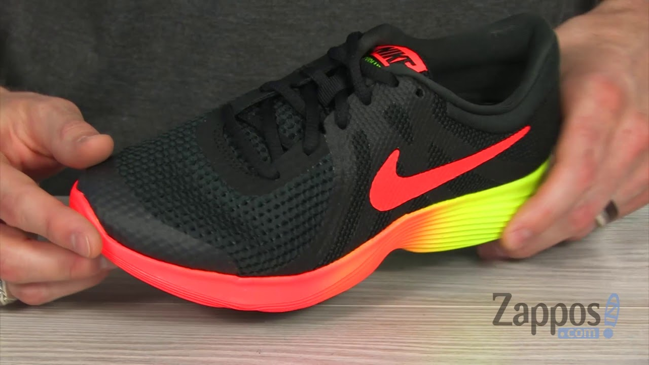 a73e72683527f1 Nike Kids Revolution 4 Fade (Big Kid) SKU  9032946 - YouTube