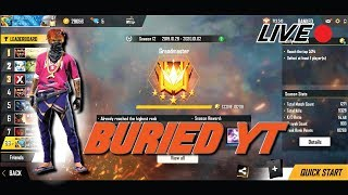 TOP GLOBAL || FREE FIRE ||  AO VIVO || LIVE || FEAT BURIEDYT || WITHOUT RANK TOKENS
