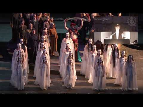 2018 04 11 TURANDOT IN MARIINSKY THEATRE, conductor Alexander Polyanichko, ACT I