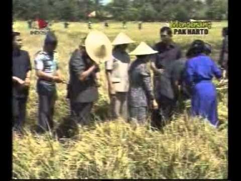 Soeharto Mengantar Indonesia ke Swasembada Pangan