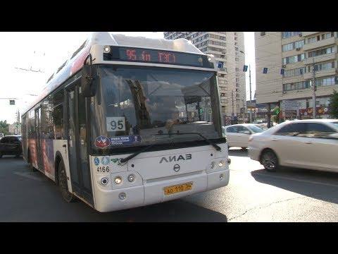 В Волгограде от жары закипают автобусы и пассажиры