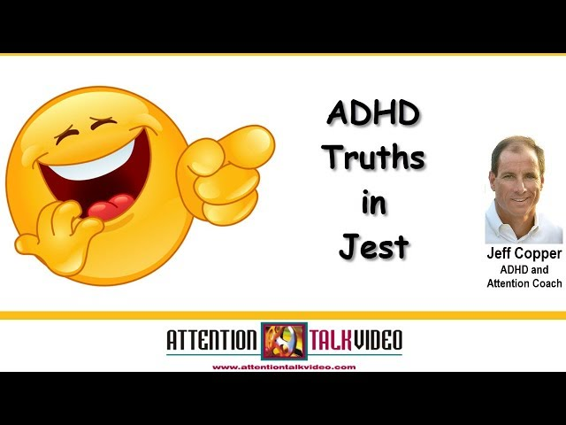 ADHD Humor – Sometimes You Have to Laugh
