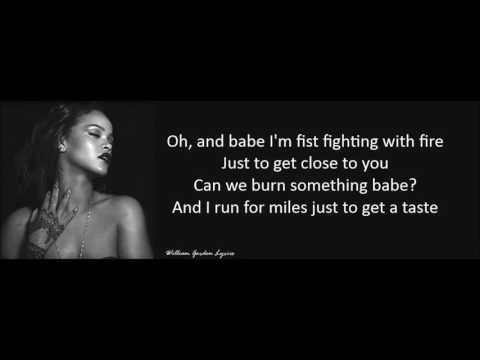 Rihanna - Love On The Brain Lyrics