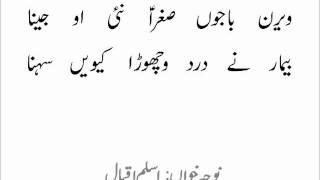Writeups of Nohay Aslam Iqbal - Veeran Bajo.wmv