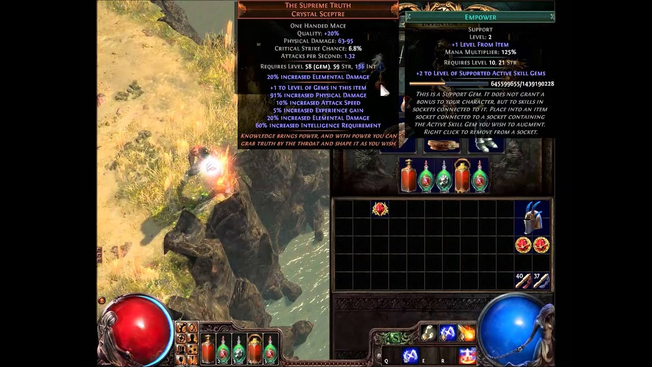 Path Of Exile Empower Support Gem Youtube This is a support gem. path of exile empower support gem