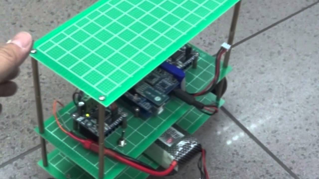 Arduino self balance balancing robot diy segway chann