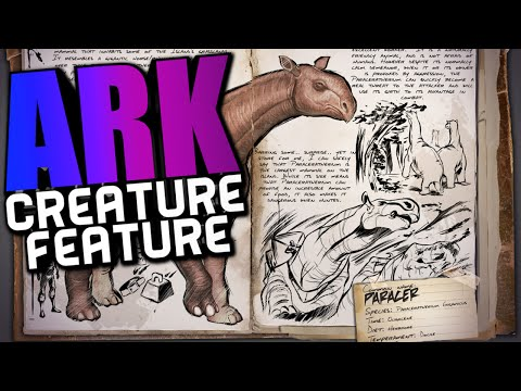 ARK Survival Evolved - PARACERATHERIUM SPOTLIGHT, PARACER, NEW DINO (ARK Dinosaur Dossiers)