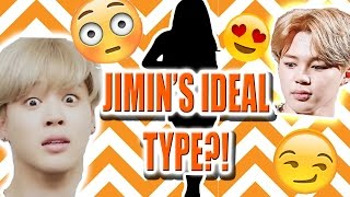 BTS JIMIN IDEAL TYPE OF GIRL (skinship,sexy info,Ideal date, and more!)