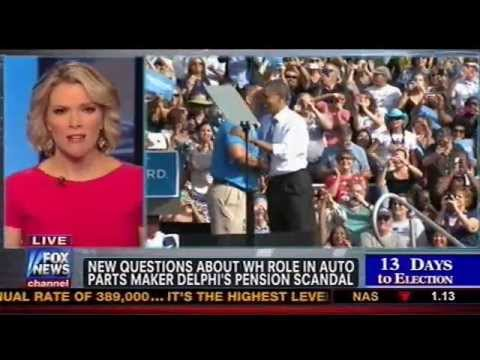 Fox News: Camp Demands Obama Admin Explain Why Delphi Workers' Pensions Were Slashed