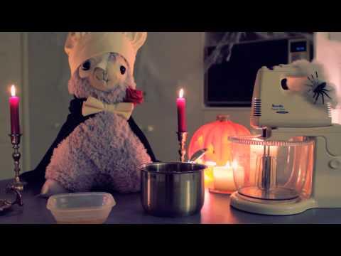 Cooking With Arpakasso! Marshmallow Brain Chocolate Tarts