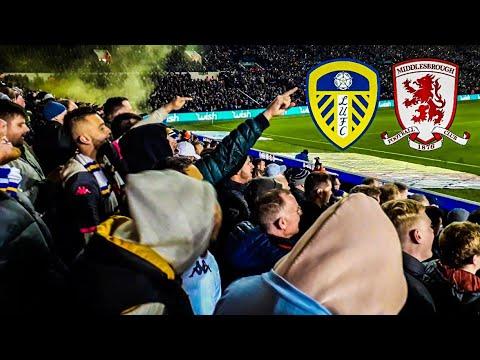 CARNAGE AT ELLAND ROAD!🍻🤪 LEEDS UNITED 4-0 MIDDLESBROUGH | Matchday Vlog 97 | Leeds United 2019/20