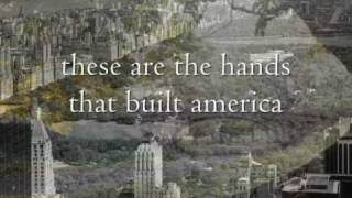 U2 The Hands That Built America Lyrics