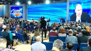Итоги недели эфир 23 декабря 2013 Пресс конференция Владимира Путина