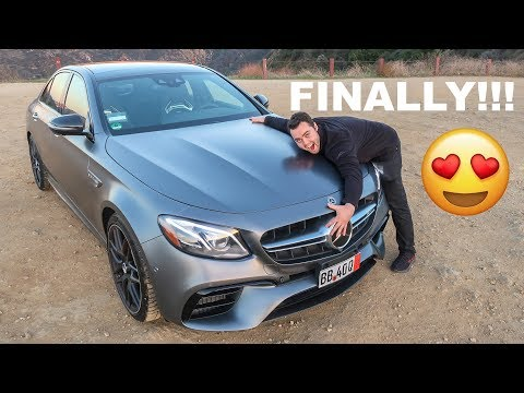 FINALLY!!! TAKING DERY OF MY 2018 MERCEDES AMG E63S
