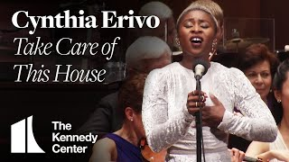 "Cynthia Erivo performs Bernstein's ""Take Care of This House"" with the National Symphony Orchestra"
