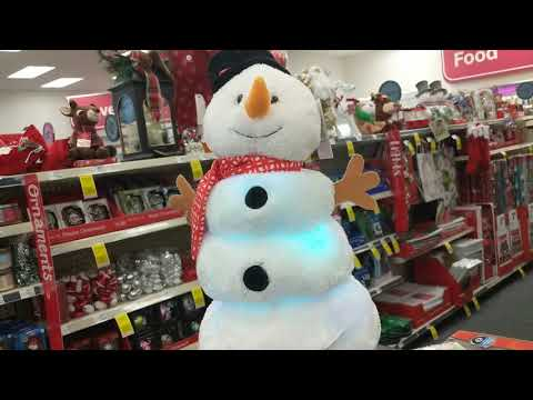 Cuddle barn Animated Melting snowman