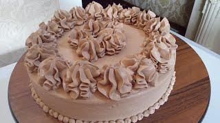 Торт 1 дона тухумдан 10 кишилик огизда эрийдиган торт