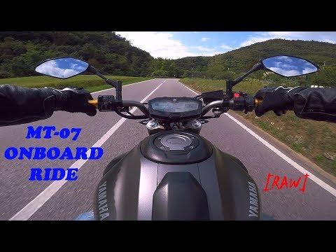 MT-07 SC Project ONBOARD RIDE [RAW] ONLY SOUND || L'inizio di una nuova serie?