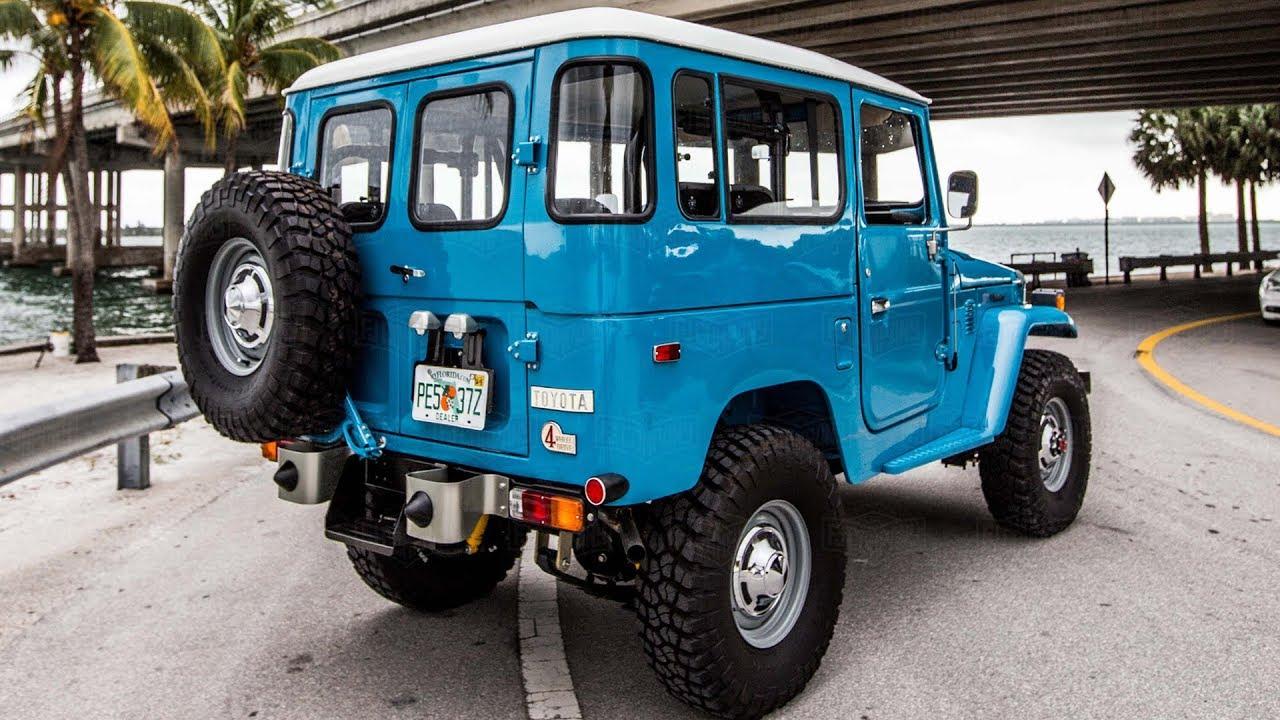 【1978 Toyota Land Cruiser FJ40 Restoration Project】►►►RESTORATION