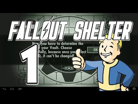 FALLOUT SHELTER PLAYTHOUGH PART 1, We Pick A Vault Number
