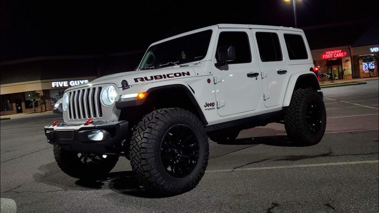 Bright White 2020 Jeep Wrangler Rubicon EcoDiesel !! - YouTube