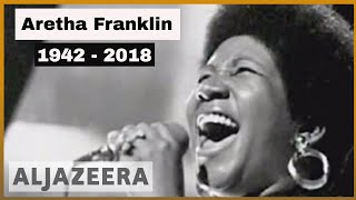 🇺🇸 Aretha Franklin, the 'Queen of Soul', dies at age 76 | Al Jazeera English
