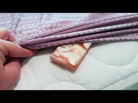 Put A Bar Of Soap Under Your Bed Sheet For One Brilliant Reason
