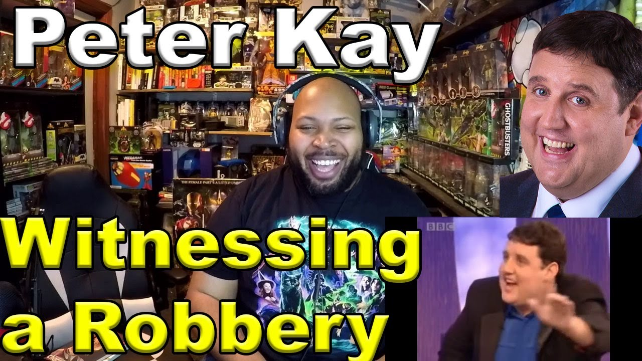 Parkinson: Peter Kay on Witnessing a Robbery Reaction