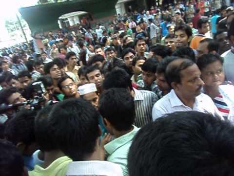Hall Movement in Jagannath University, Bangladesh