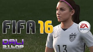 FIFA 16 Women's Football Local PvP PC UltraHD 4K Gameplay 60fps 2160p