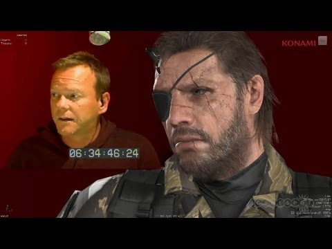 Kiefer Sutherland as the voice of Snake in MGS V
